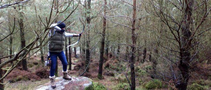Instinctive Archer shooting in Arrowfield